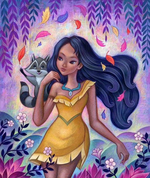 Wind Spirit - Pocahontas
