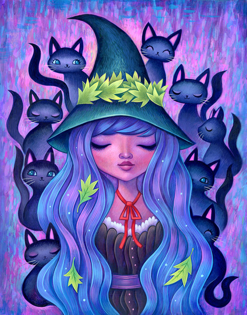 The Witches Cats