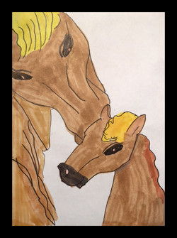 Mother horse & Foal