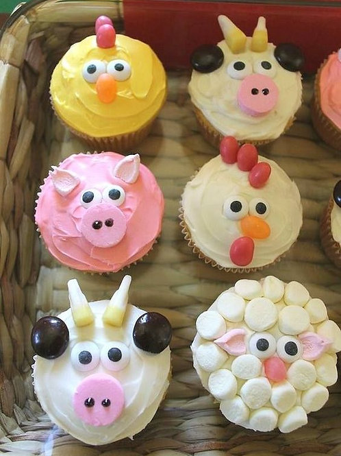 FARM CUPCAKES AND SWEET TREAT: JUNE 14 & 15; $75 + $15 SUPPLIES