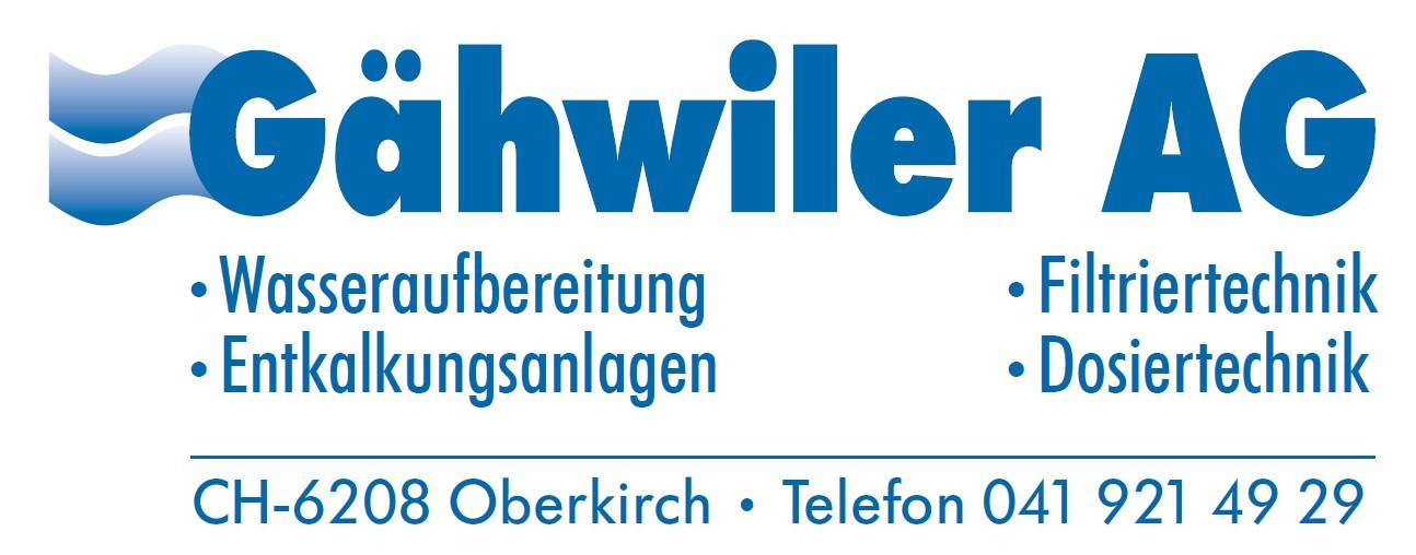 Gähwiler AG Oberkirch