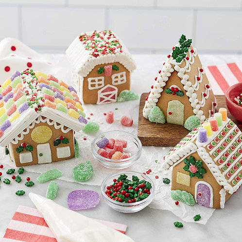 Mini Gingerbread Homes- Wednesday, Dec. 23rd, $35 + $15 supplies