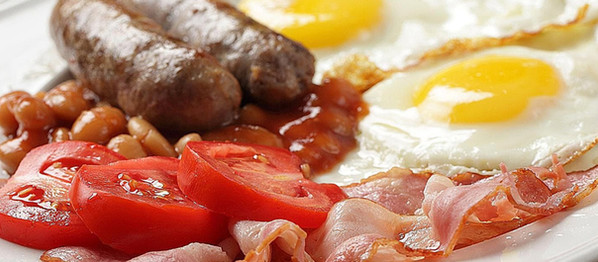 The Sloop Inn St Ives, Breakfast Menu