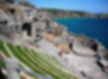 The Minack Theatre, Cornwall.