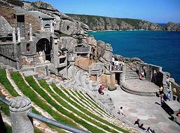 The Minack Theatre, Cornwall.