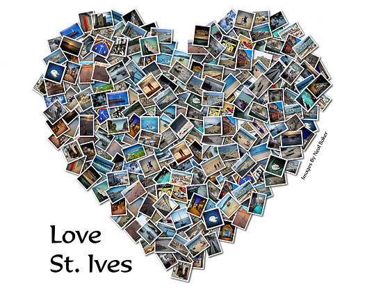 Love St Ives Photo Collage