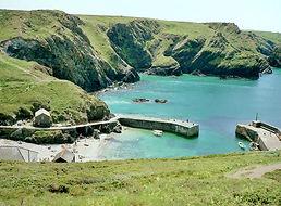 Mullion Cove, Cornwall.