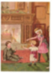 Jeu-de-Colin-Maillard-Enfants-Bébé-Chemi