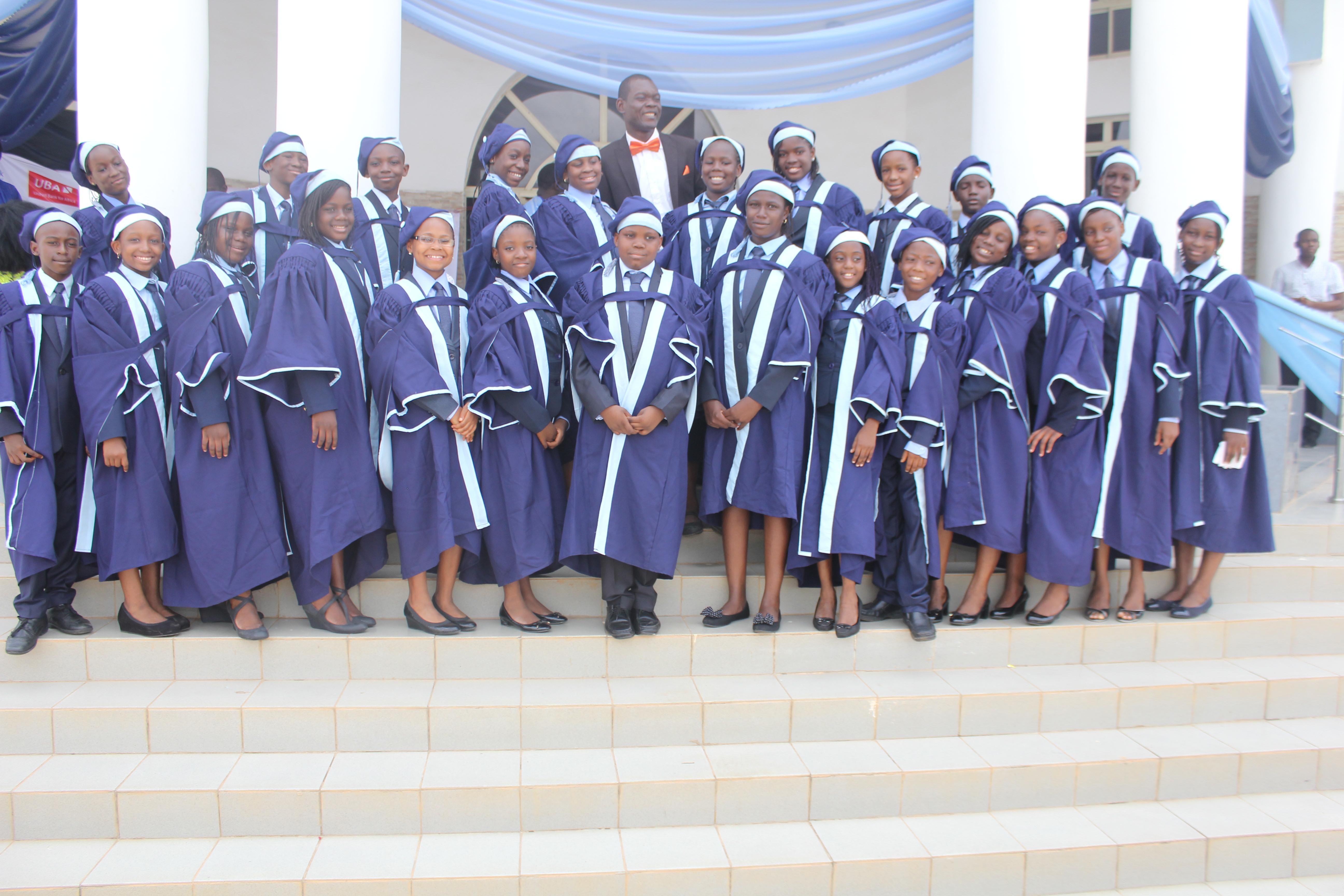 Graduating Pupils