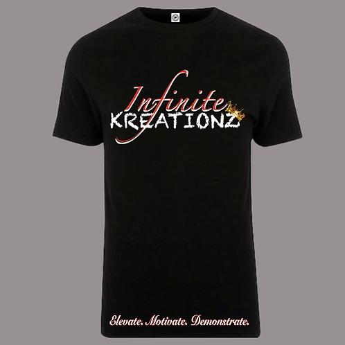 Elevate. Motivate. Demonstrate Infinite Kreationz Black Shirt