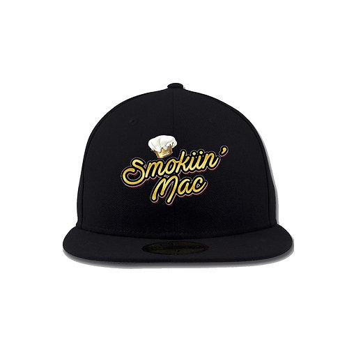 Smokiin Fitted Cap (Black