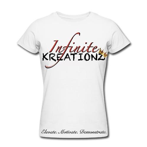 Elevate. Motivate. Demonstrate Infinite Kreationz White Shirt