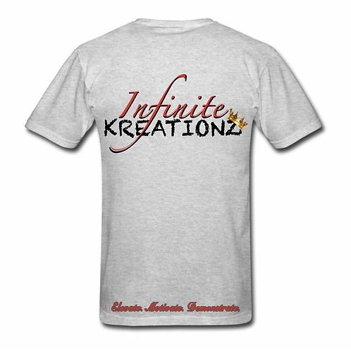 Elevate. Motivate. Demonstrate Infinite Kreationz Grey Shirt