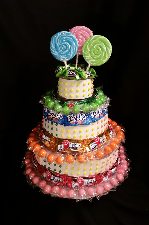 Candy Cake Party Decor