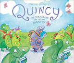 QUINCY THE CHAMELEON WHO COULDN'T BLEND IN