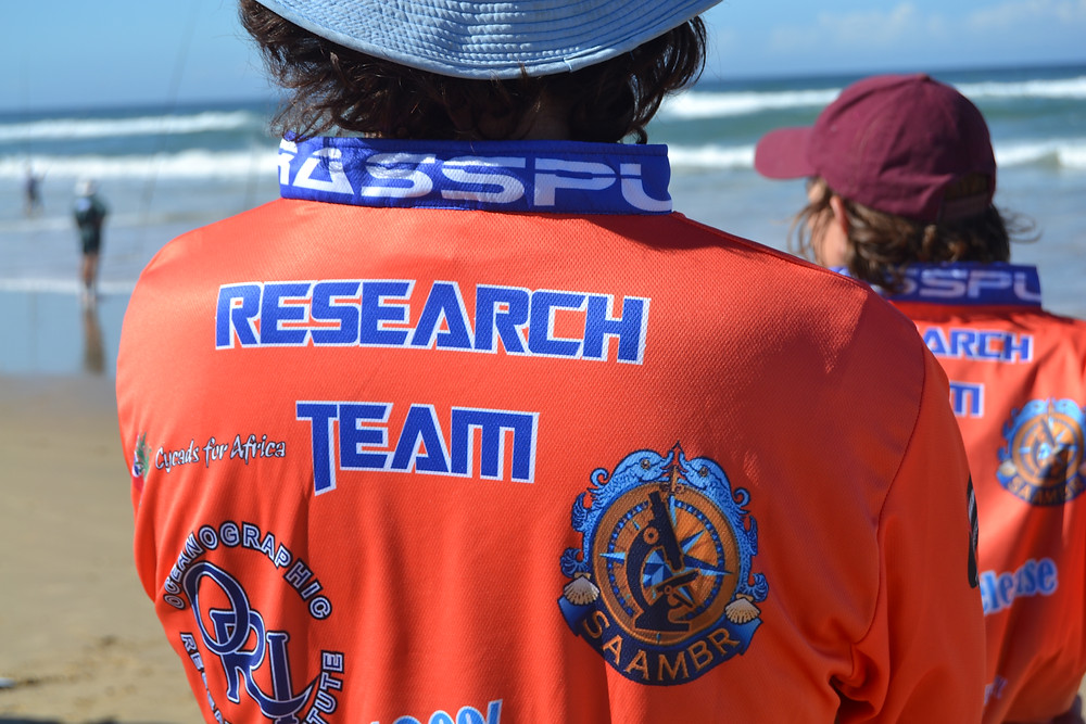 Members of the SAFER Lab RASSPL research team observe anglers during the RASSPL 2018 National angling competition.