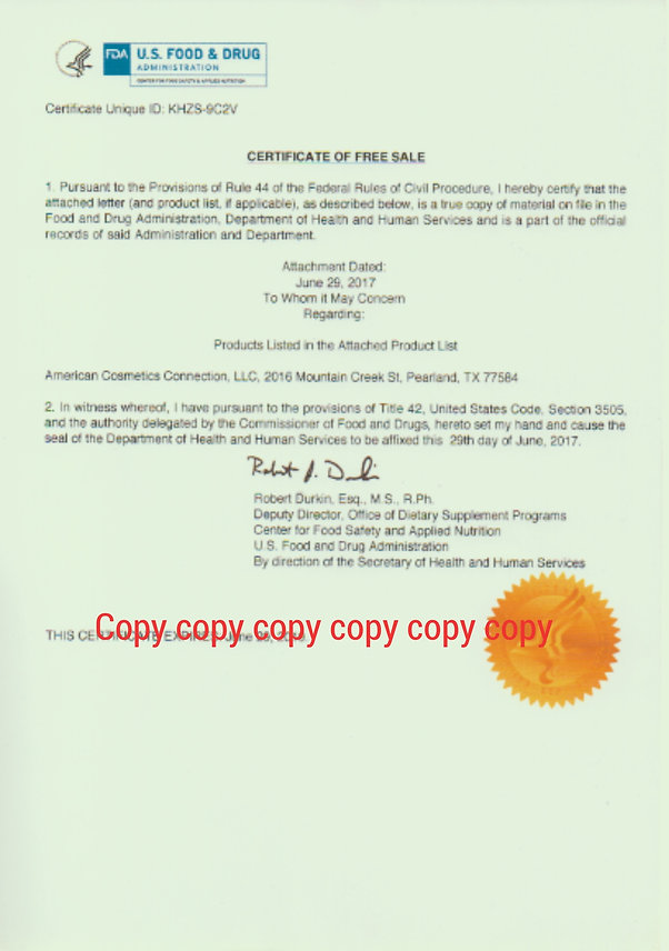 Deer antler velvet FDA paper