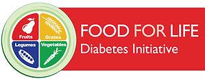 Food for Life diabetes initiative logo h