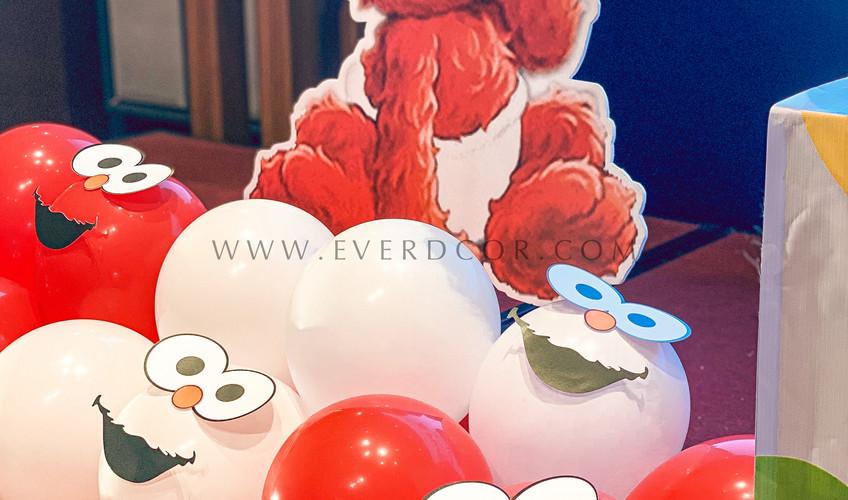 Elmo party-5