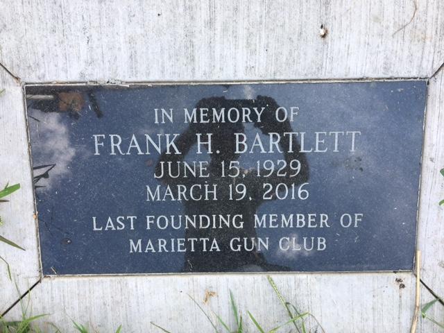 frank bartlett memorial