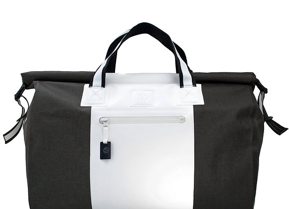 DRY_DUFFEL/White+Dark Army
