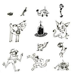 Monster Spot Illustrations