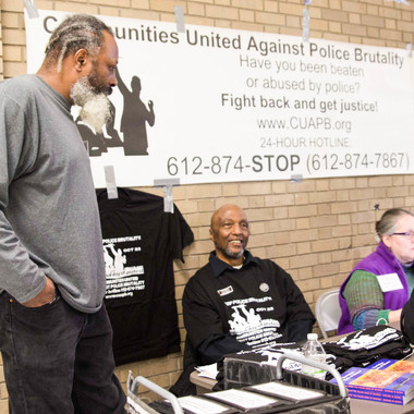 MNxMN PARTNER, COMMUNITIES UNITED AGAINST POLICE BRUTALITY