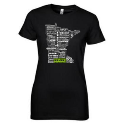 Word Cloud Teeshirt - WOMENS