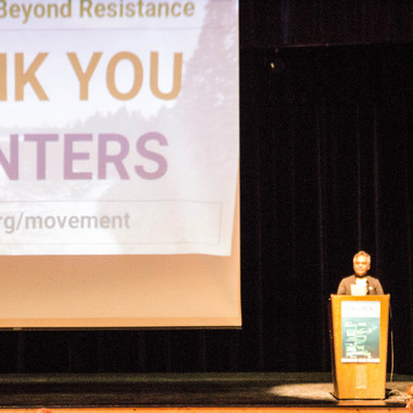 2018 BEYOND RESISTANCE CHAIR MANNY MUNSON-REGALIA