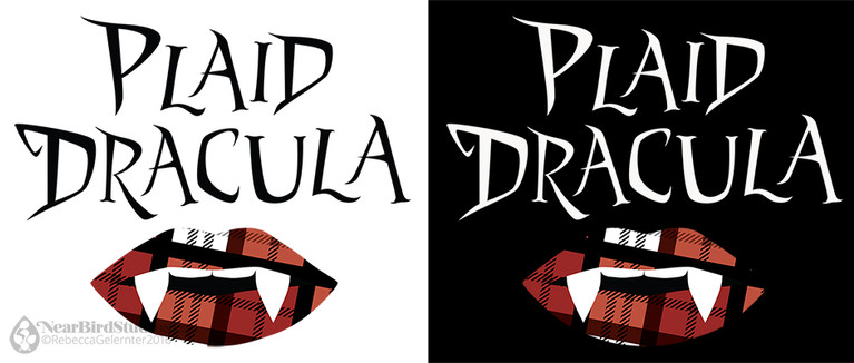 Plaid Dracula Logo