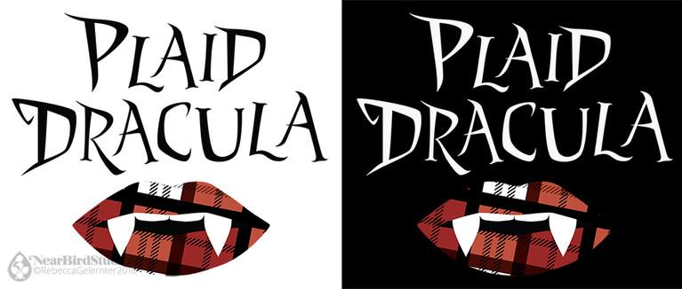 Plaid Dracula Logo