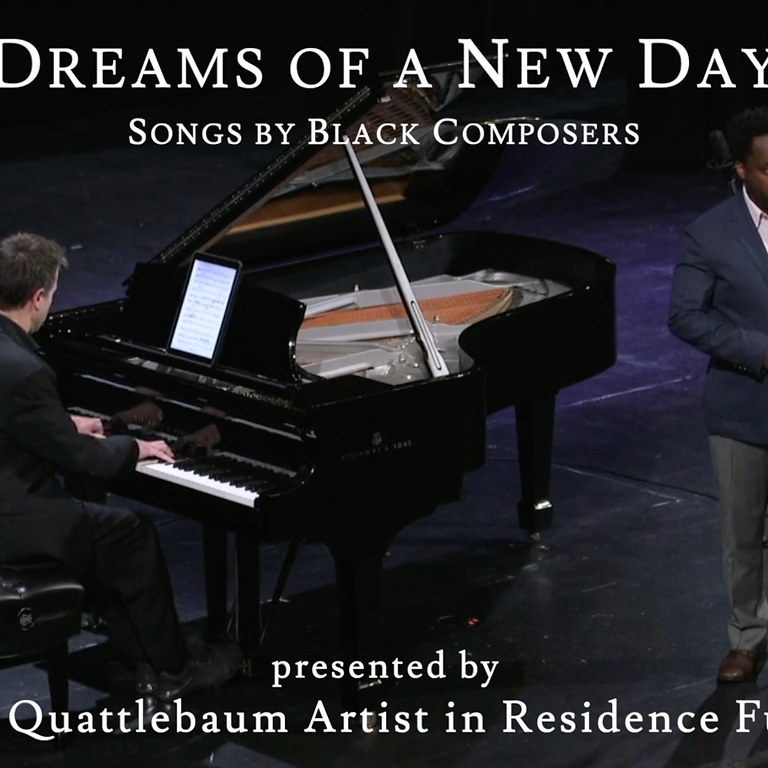 Dreams of a New Day: Will Liverman and Paul Sánchez in Recital