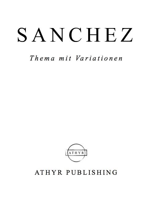 Thema mit Variationen, for solo piano (printed score)