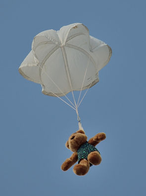 Teddy Bear with Parachute