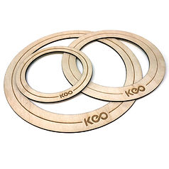 """KEO Percussion Bass Drum """"O""""Ring"""