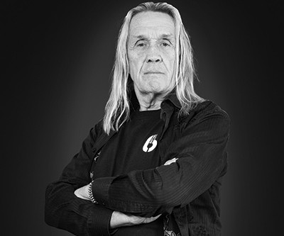 WELCOME IRON MAIDEN DRUMMER, NICKO MCBRAIN