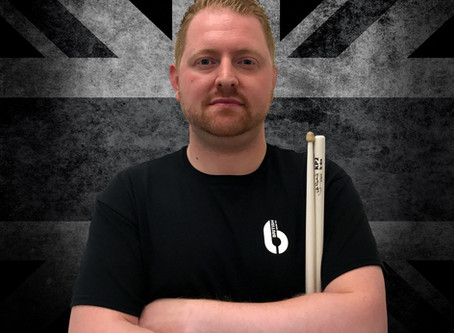 WELCOME PIPE BAND DRUMMER DAVID HENDERSON