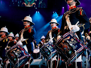 THE ROYAL MARINES RETURN TO BRITISH MADE DRUMS
