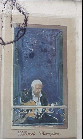 Facade chope des Puces  Marcel Campion