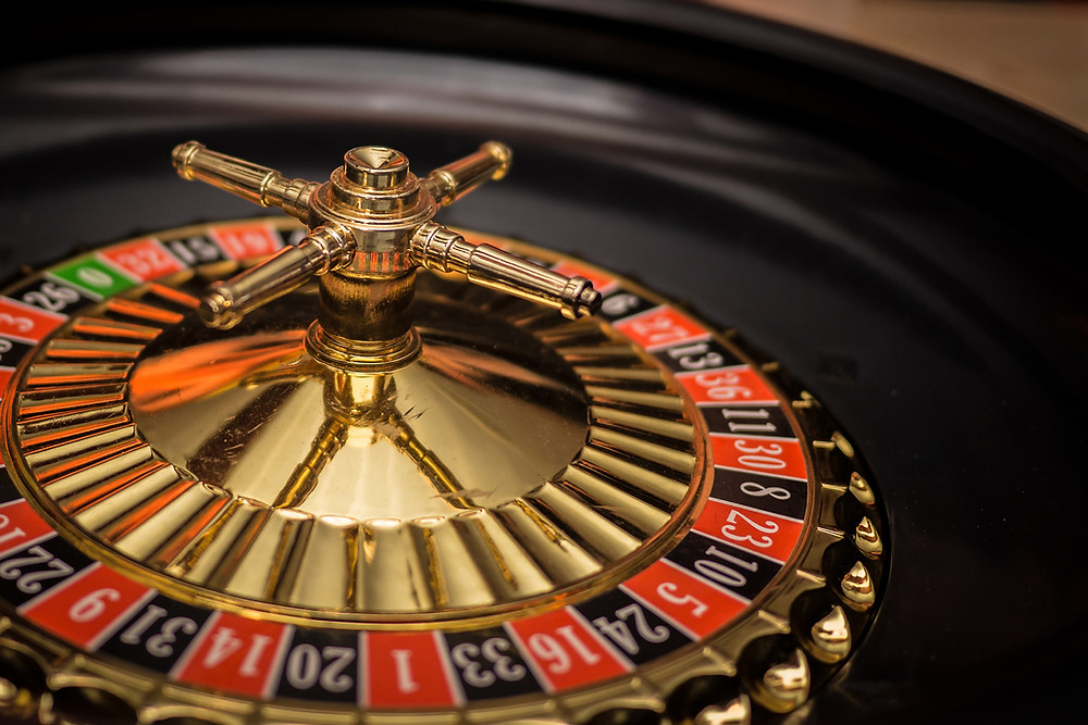 A roulette wheel, origin of the Monte carlo fallacy