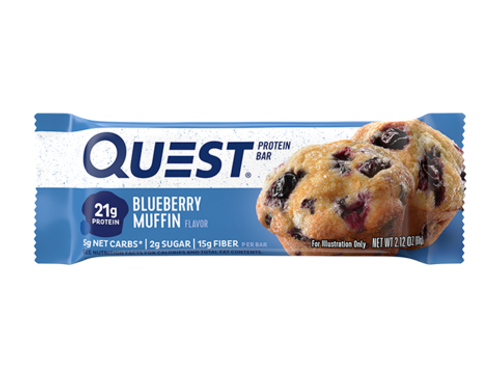 Quest Blueberry Muffin Bar