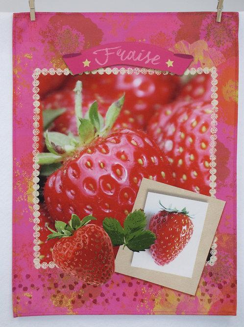 Dish Towel - Fruit / Fraise