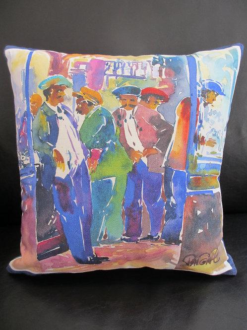 """Pillow """"Marseille Men"""""""