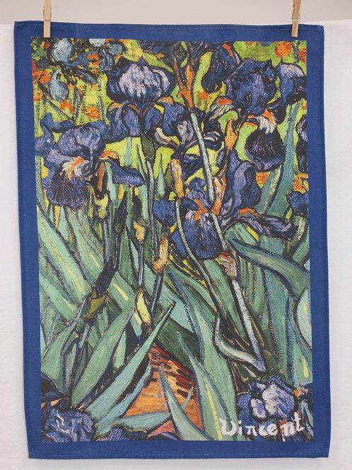 Dish Towel - Van Gogh Exclusive / Iris