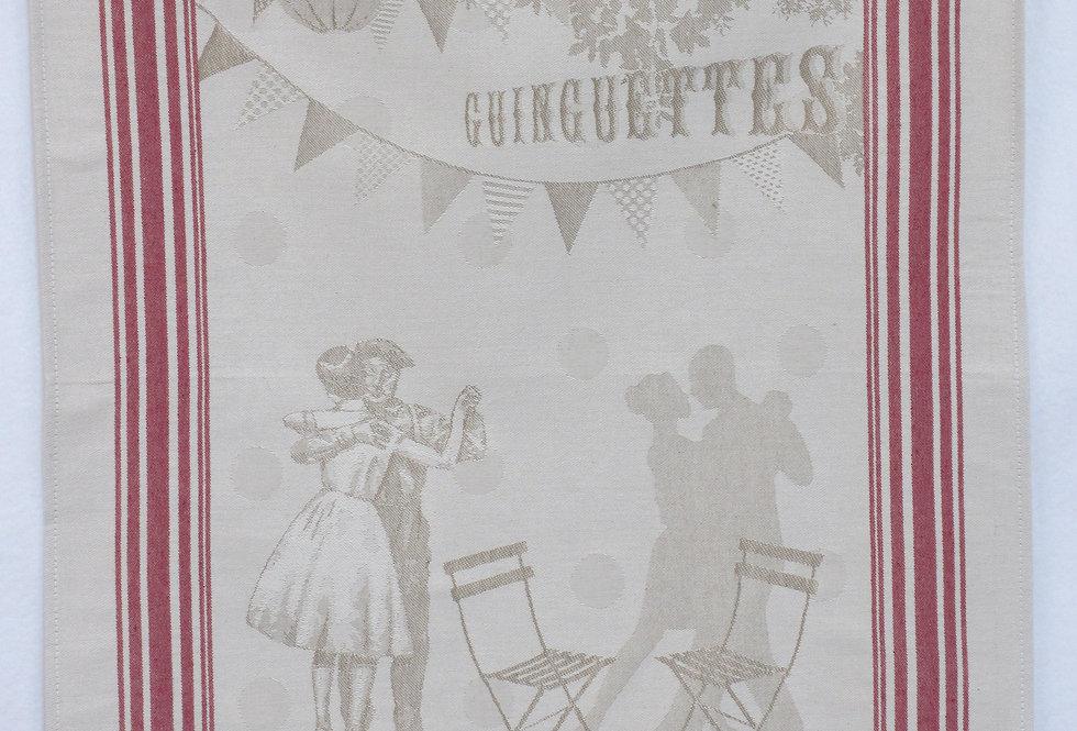 Dish Towel - Fifties / Guinguettes
