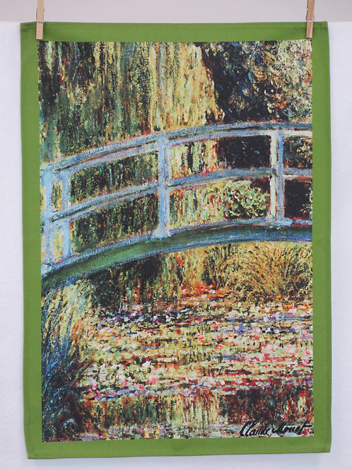 Dish Towel - Monet Exclusive / Bridge