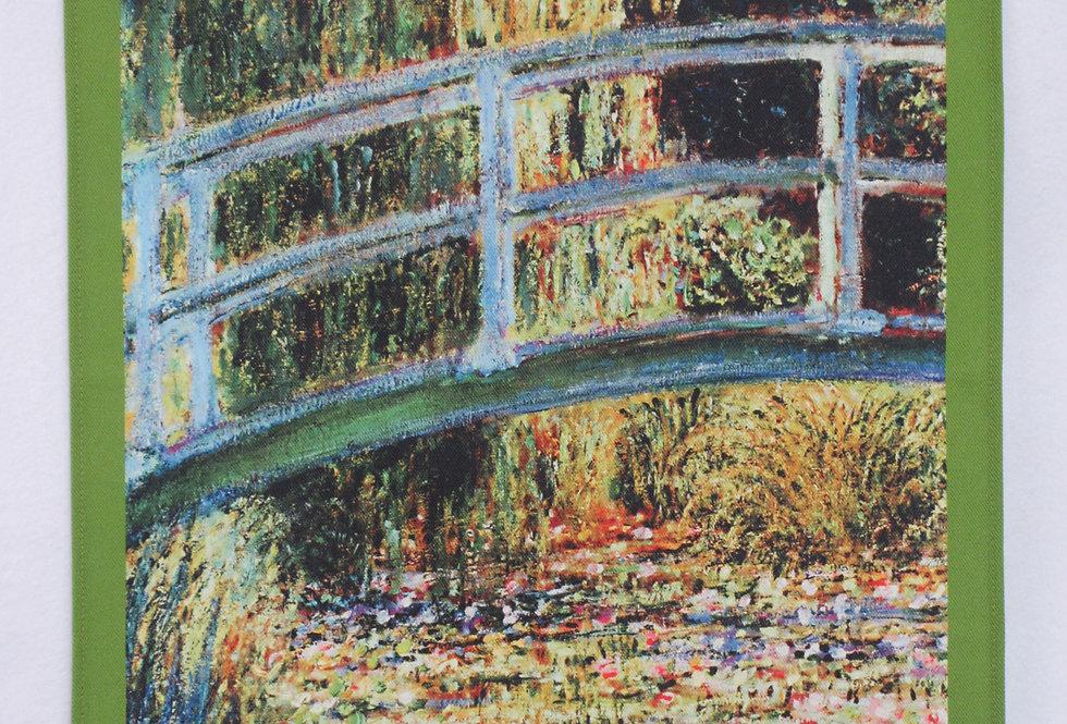 Dish Towel - Monet Exclusive / Bridge