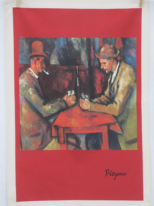 Dish Towel - Cezanne Exclusive / Card Players