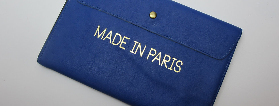 """the Parisian Organizer, MIP Blue - The """"Made in Paris"""" Collection"""