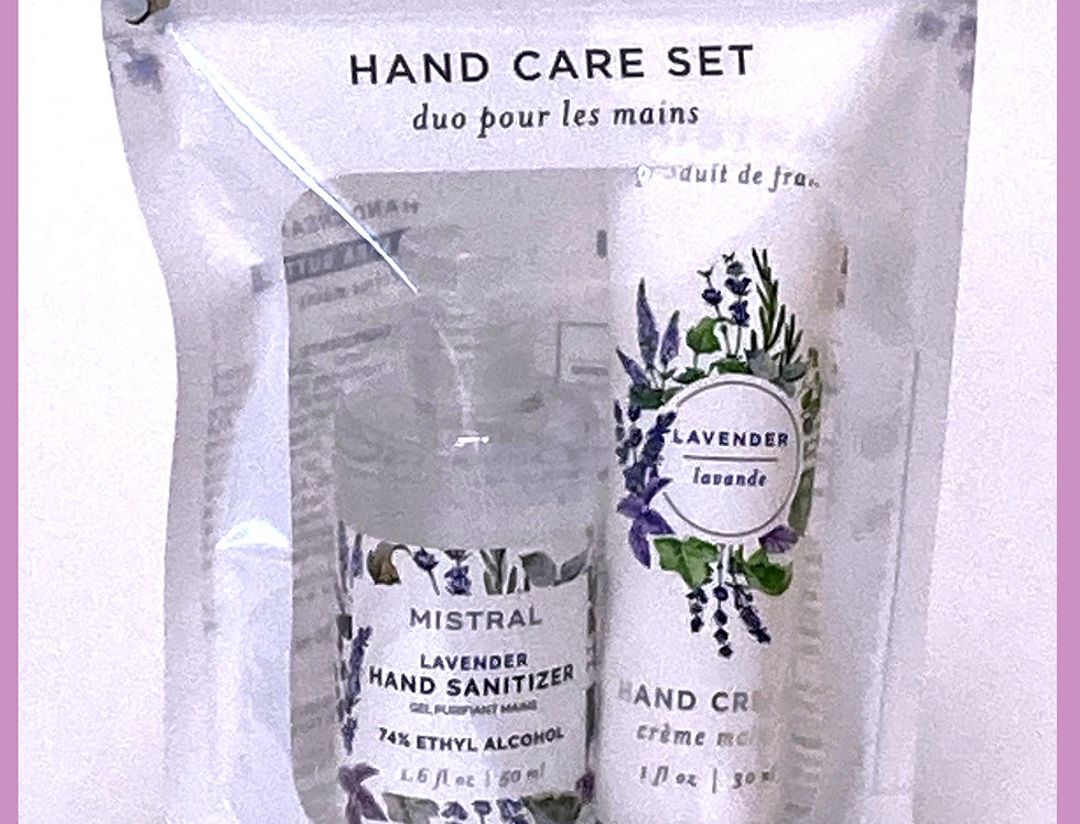 Travel Hand Care Kit by Mistral